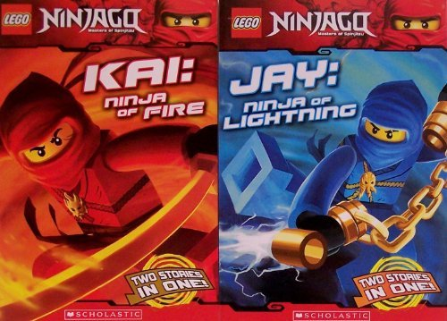 Lego Kai Ninja Of Fire & Jay Ninja Of Lightning
