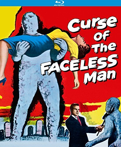Curse Of The Faceless Man Anderson Edwards Mara Blu Ray Nr