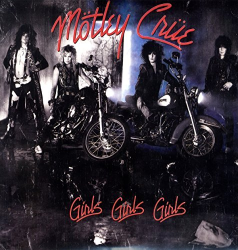 Motley Crue Girls Girls Girls (translucent Red Vinyl) Limited To 1500