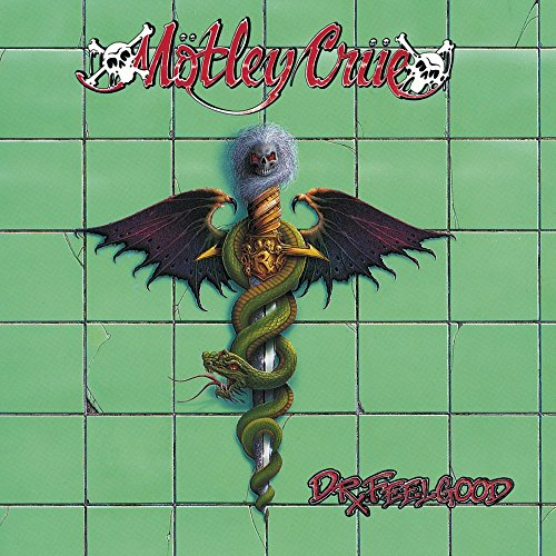 Motley Crue Dr. Feelgood (green Smoked Colored Vinyl) Limited To 1000