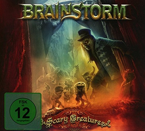 Brainstorm Scary Creatures Incl. DVD