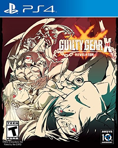 Ps4 Guilty Gear Xrd Revelator