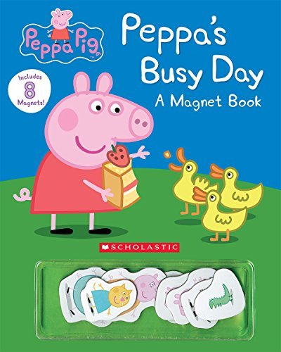 Eone Peppa's Busy Day Magnet Book