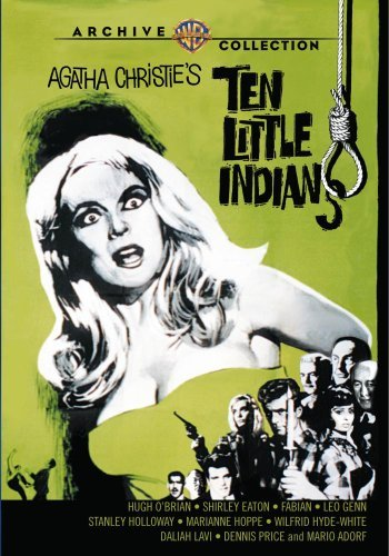 Ten Little Indians (1966) O'brian Eaton Genn Made On Demand Nr