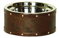 Briggs Aged Metal Dog Feeder Sm Briggs Aged Metal Dog Feeder Sm
