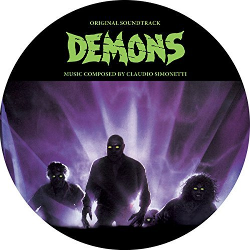 Demons Soundtrack (picture Disc) Music By Claudio Simonetti