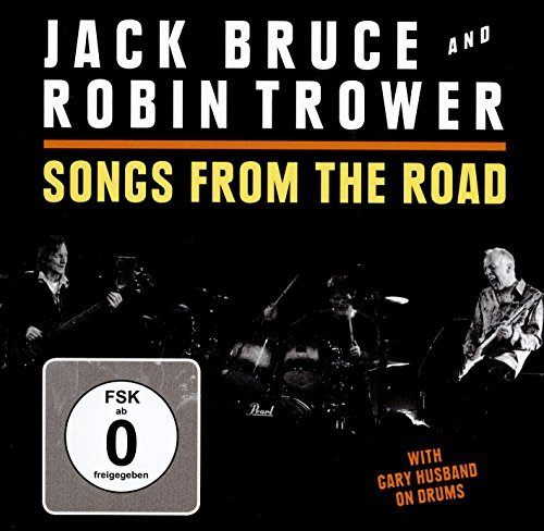 Jack Bruce & Robin Trower Songs From The Road Incl. DVD