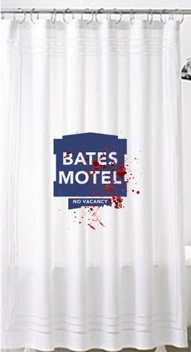 Boutique Bates Motel Shower Curtain