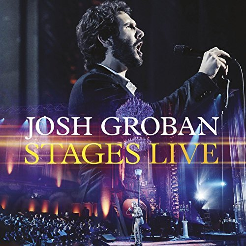 Josh Groban Stages Live CD DVD