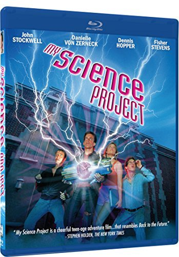My Science Project Stockwell Von Zerneck Stevens Hopper Blu Ray Pg