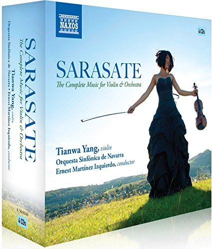 Sarasate Yang Orquesta Sin Complete Works For Violin & Or