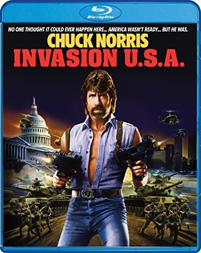 Invasion U.S.A. Norris Lynch Prophet Zale Blu Ray R