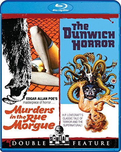 Murders In The Rue Morgue The Dunwich Horror Double Feature Blu Ray R