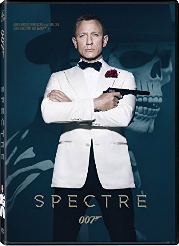 James Bond Spectre DVD Pg13