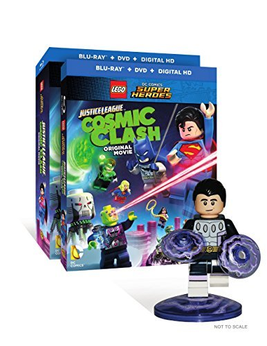 Lego Dc Comics Super Heroes Justice League Cosmic Clash Blu Ray DVD Dc Toy