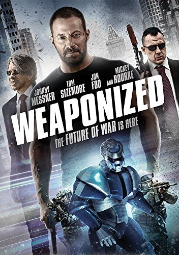 Weaponized Sizemore Rourke Messner DVD Nr