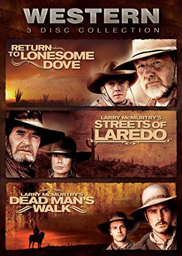 Return To Lonesome Dove Streets Of Laredo Dead Man's Walk Western Collection DVD