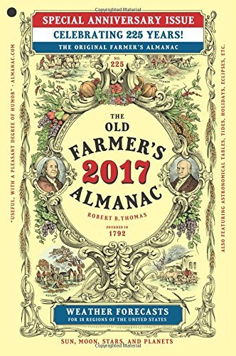 Old Farmer's Almanac The Old Farmer's Almanac 2017 Special Anniversary Edition
