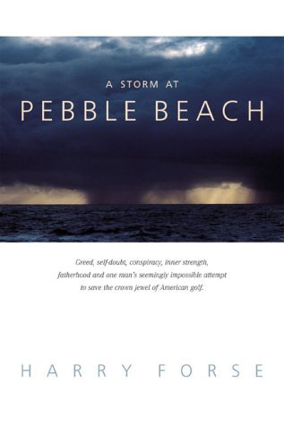 Harry Forse A Storm At Pebble Beach