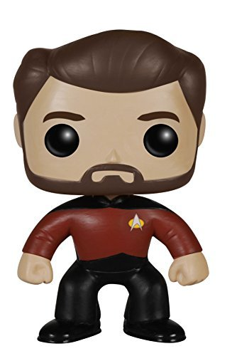 Toy Pop! Tv Star Trek The Next Generation Will Rik