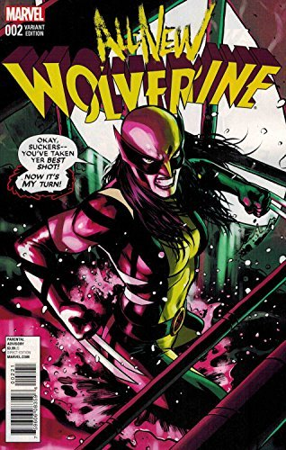 Comic Book All New Wolverine