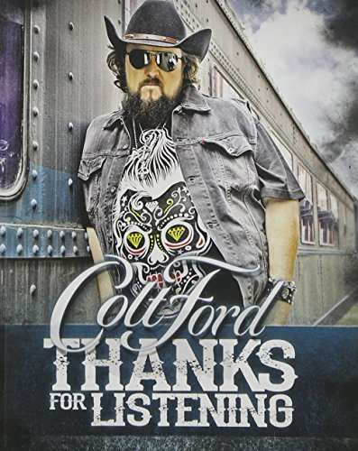 Colt Ford Thanks For Listening Cd+comic Book