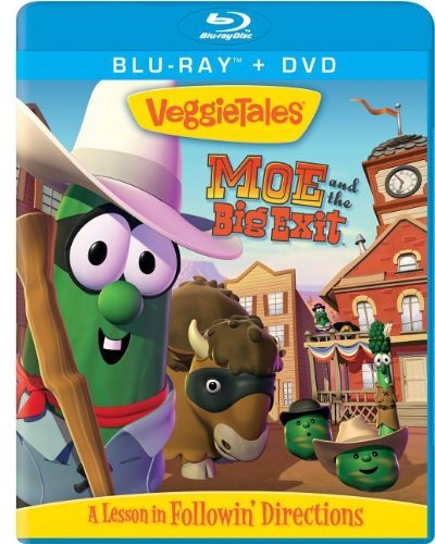 Veggie Tales Moe & The Big Exit Blu Ray DVD Combo