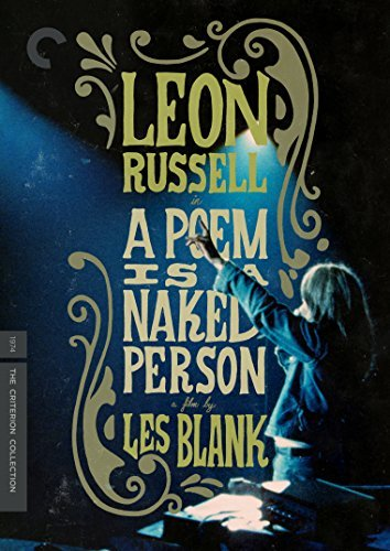 Poem Is A Naked Person Leon Russell DVD Criterion
