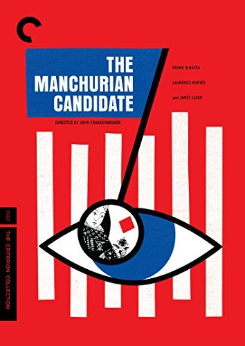 Manchurian Candidate (1962) Sinatra Harvey Lansbury Leigh DVD Criterion