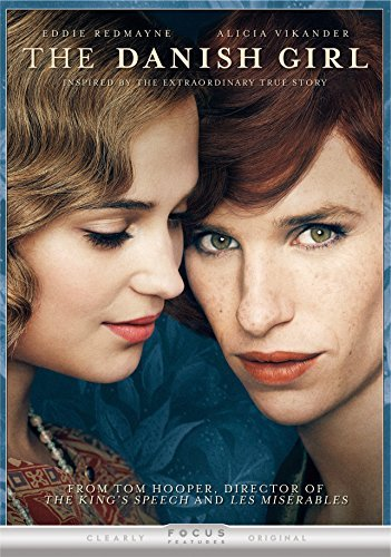 Danish Girl Redmayne Vikander DVD R