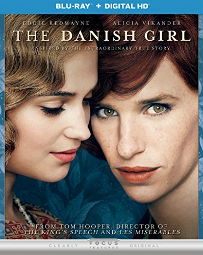 Danish Girl Redmayne Vikander Blu Ray Dc R