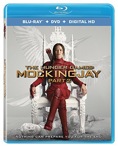 Hunger Games Mockingjay Part 2 Lawrence Hutcherson Hemsworth Blu Ray DVD Dc Pg13