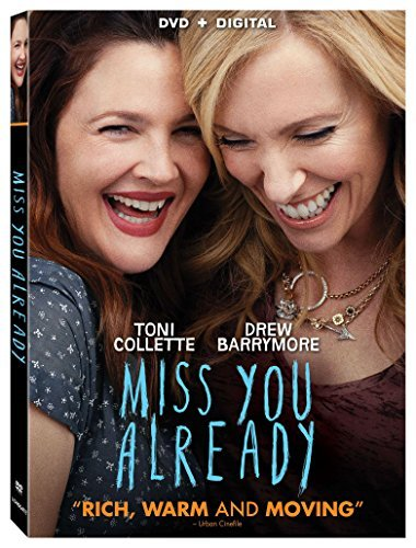 Miss You Already Barrymore Collette DVD Dc Pg13
