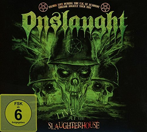 Onslaught Live At The Slaughterhouse