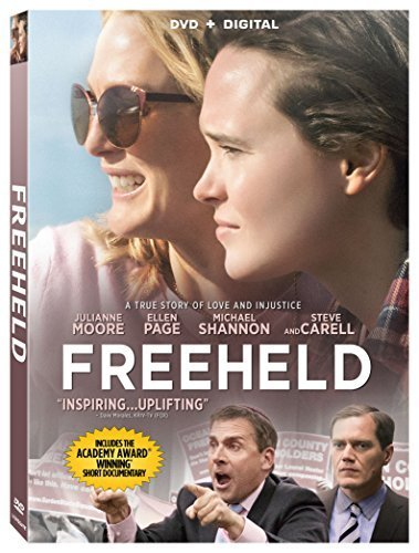 Freeheld Moore Page Carell DVD Dc Pg13