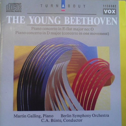 Beethoven C.A. Bunte Berlin Symphony Orchestra Mar The Young Beethoven Piano Cto In E Flat Major Pi