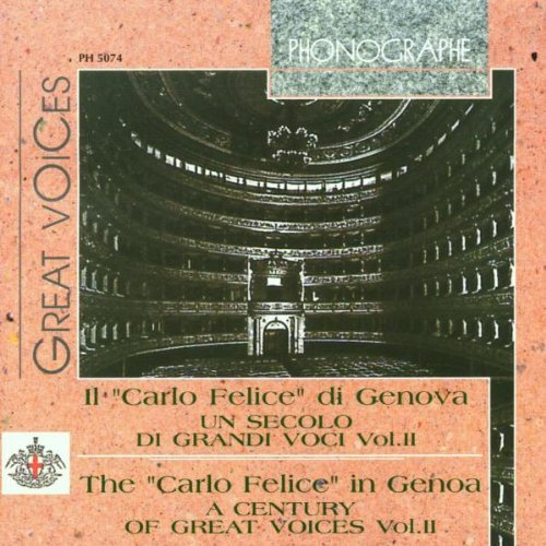 Bellincioni Stracciari Bettoni Century Of Great Voices 2