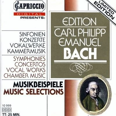 Carl Philipp Emanuel Bach Cpe Bach Musikbeispiele Music Selections