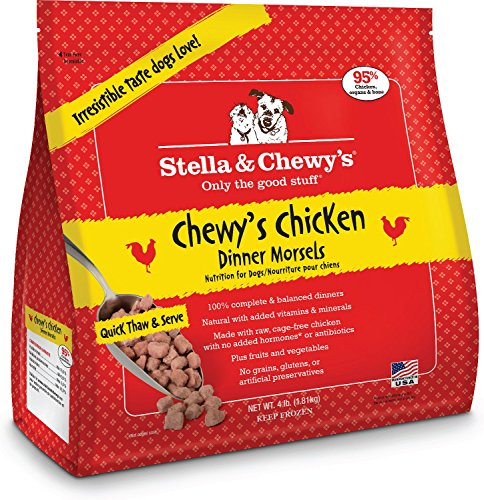 S&c Raw Morsels Chicken 4lb
