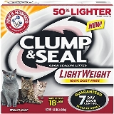 Arm & Hammer Clump&seal Lightweight Litter 9 Pound