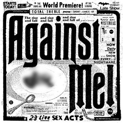Against Me! 23 Live Sex Acts (clear W Blue & Yellow Splatter Vinyl) Explicit 180 Gram Mint Green With Blue & Yellow Highlights Limited To 2500 Copies