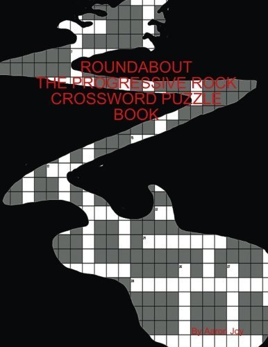 Aaron Joy Roundabout The Prog Rock Crossword Puzzle Book