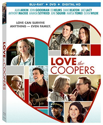 Love The Coopers Keaton Goodman Arkin Blu Ray Pg13