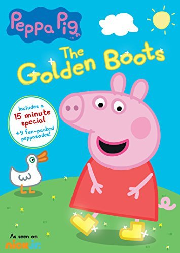Peppa Pig The Golden Boots DVD