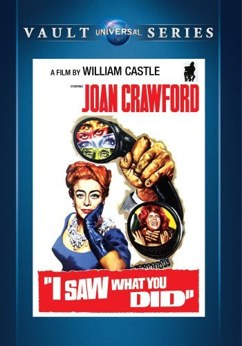 I Saw What You Did I Saw What You Did DVD Mod This Item Is Made On Demand Could Take 2 3 Weeks For Delivery