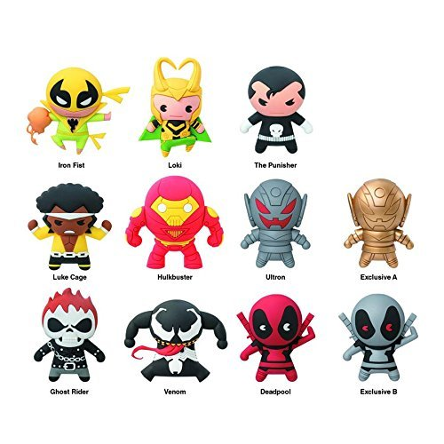 Keychain Marvel Collectors Keyring