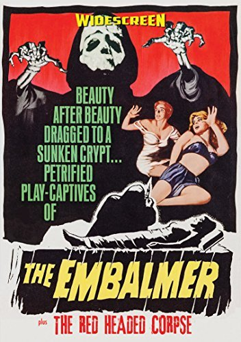 Embalmer Red Headed Corpse Double Feature DVD R