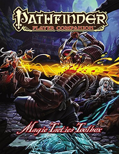 Paizo Staff Pathfinder Player Companion Magic Tactics Toolbox