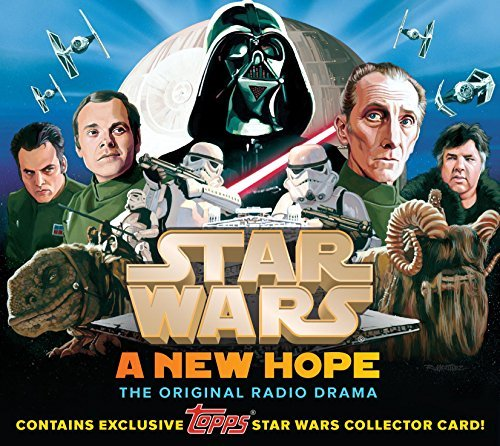 "Brian Daley Star Wars A New Hope The Original Radio Drama Topps ""dar Original Radio Mp3 CD"