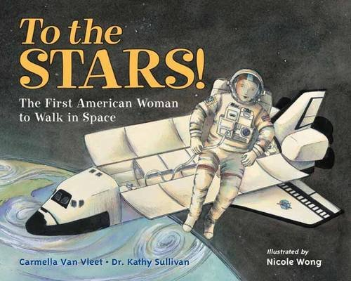Carmella Van Vleet To The Stars! The First American Woman To Walk In Space